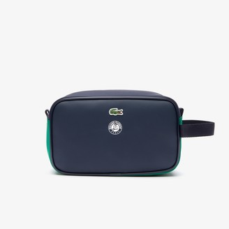 Lacoste Men's Roland Garros Nylon Zippered Toiletry Bag
