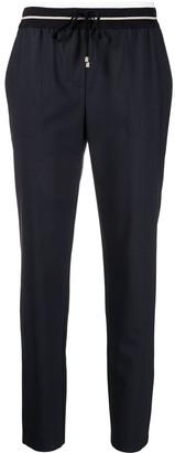 Lorena Antoniazzi Elasticated-Waist Cropped Trousers