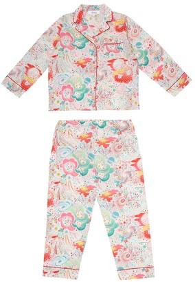 Bonpoint Dormeur printed cotton pajamas