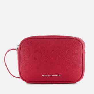 Armani Exchange Women's Camera Case - Royal Red
