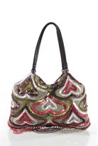 Jamin Puech Purple Multicolor Beaded Mini Handbag RHB9