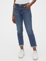 Gap Mid Rise Girlfriend Jeans