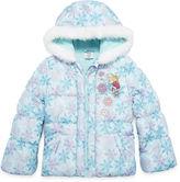 Disney Girls Frozen Midweight Puffer Jacket-Big Kid
