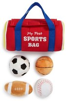 Baby Gund Infant Boy's 'My First Sports Bag' Play Set