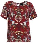 Object OBJBAIL Print Tshirt pomegranate