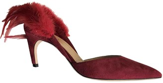 Christian Dior Dioramour Red Suede Heels
