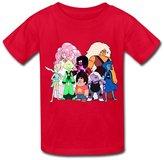 Flycro RenHe Kid's Sports Steven Universe T-shirts Size M