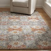 Crate & Barrel Alvarez Garden Wool-Blend Rug