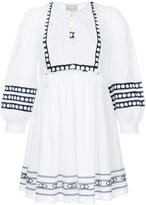 Sea lace bib day dress - women - Cotton - 0