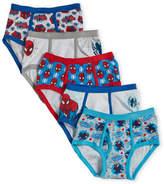 Marvel Boys 4-7) 5-Pack Spiderman Briefs
