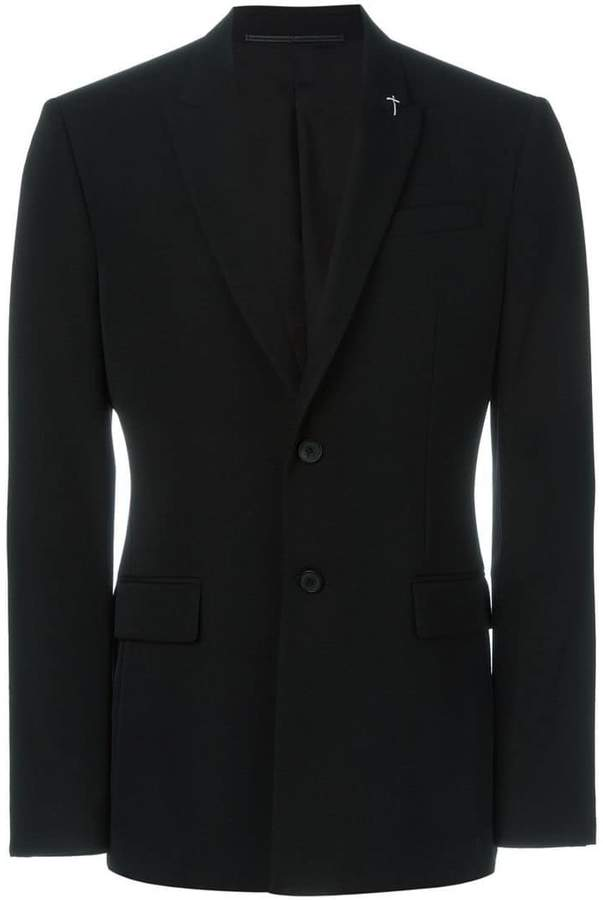 Givenchy crucifix stitch blazer