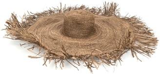 Ibeliv Radian raffia sun hat