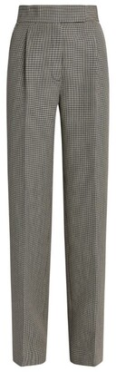 Alexander Wang High-Rise Check Trousers