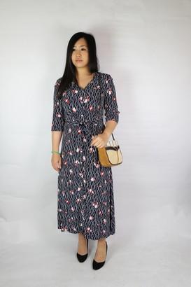 Armor Lux Flower Dress - viscose | navy | M (2) - Navy