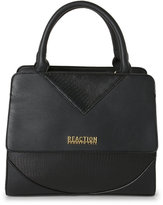 Kenneth Cole Reaction Black Right Angles Satchel