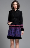 Tracy Reese Plenty Black Princess Coat