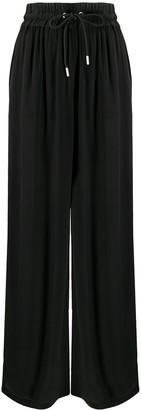 Diesel Drawstring Wide-Leg Trousers