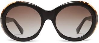 Oliver Goldsmith Sunglasses Audrey 1963 Black Cinnamon