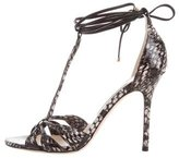 Jimmy Choo Motive Python Sandals