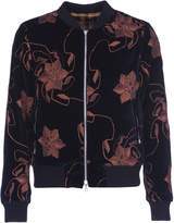Dries Van Noten Floral Embroidered Bomber