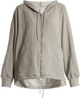 Balenciaga Cocoon zip-up hooded sweatshirt