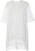 ADAM by Adam Lippes Chantilly Lace Short Sleeve Tunic