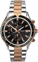 Sekonda Sekonda Black Mutli Dial Two Tone Bracelet Mens Watch
