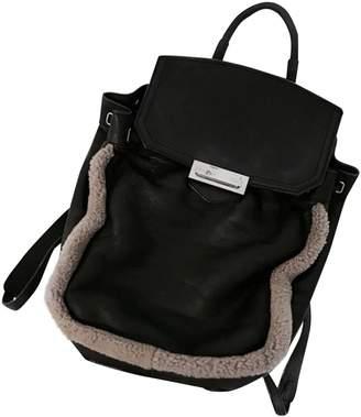 Alexander Wang Prisma Black Leather Backpacks