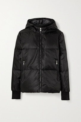 All Access Beats Hooded Quilted Shell Down Jacket - Black