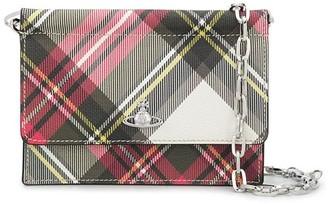 Vivienne Westwood Orb tartan mini bag