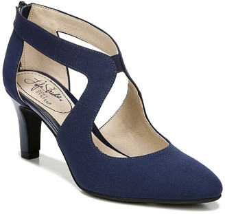 LifeStride Giovanna 2 Cutout Pump - Wide Width Available