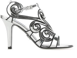 Prada Baroque Motif Sandals
