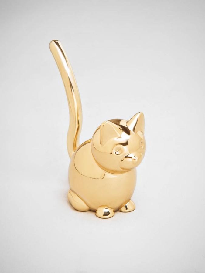 BaubleBar Kitty Cat Ring Tree