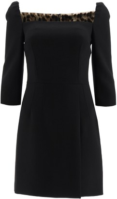 Dolce & Gabbana Mini Sheath Dress