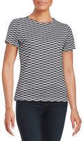 Calvin Klein Woven Short Sleeved Top