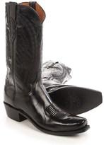 """Lucchese Eli Buffalo Cowboy Boots - 13"""" (For Men)"""