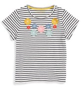 Mini Boden 'Flutter Flower' Tee (Little Girls & Big Girls)