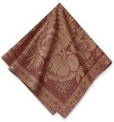 Vintage Jacquard Napkin, Set of 4, Red