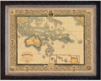 Casbah Design Oceania Map Print 1