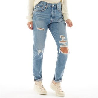 Levi's Womens 501 Skinny Jeans Nice As Pie