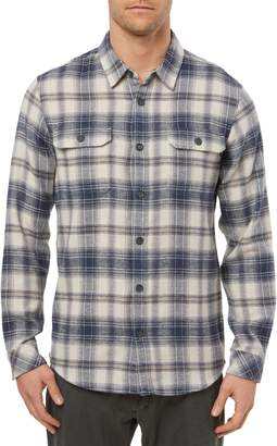 O'Neill Paramount Plaid Button-Up Flannel Shirt