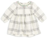 Infant Girl's Tucker + Tate Embroidered Flannel Dress
