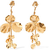 Balenciaga Gold-tone Earrings - one size