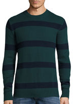 ST. JOHN'S BAY St. John's Bay Long-Sleeve Striped Sweater