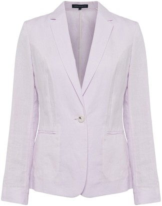 French Connection Dina Linen Suit Jacket