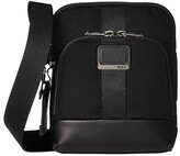 Tumi Alpha Bravo Barksdale Crossbody (Black) Cross Body Handbags