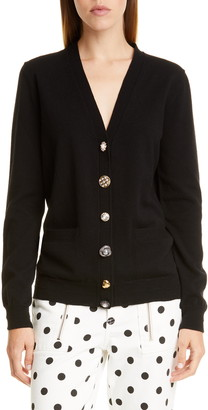 Marc by Marc Jacobs THE MARC JACOBS The Jeweled Button Cardigan