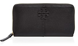 Tory Burch McGraw Mini Leather Continental Zip Wallet