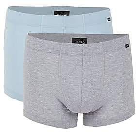 Hanro Men's Cotton Essentials 2-Pack Boxer Briefs