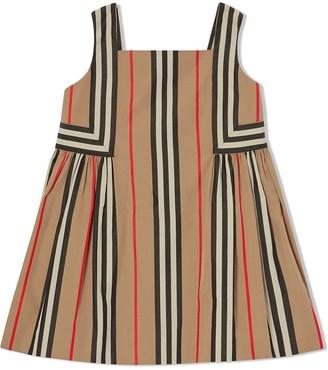 BURBERRY KIDS Icon Stripe dress